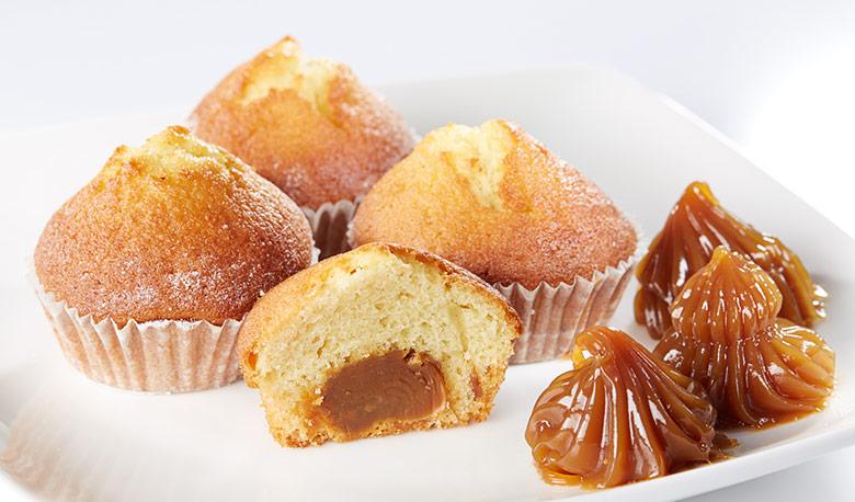 Как сделать кексы с варёной сгущёнкой